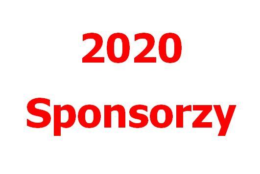 Sponsorzy 2020